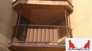 siatka dla kota na balkon Legionowo