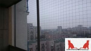 zabezpieczenie balkonu Warszawa Mokotów