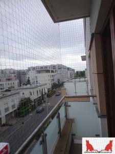 zabezpieczenie balkonu dla kota Ursynów