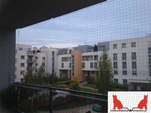 zabezpieczenie balkonu dla kota Warszawa Kabaty