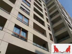 zabezpieczenie balkonu dla kota Warszawa Śródmieście