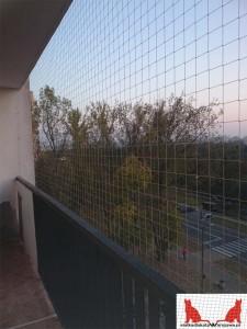 zabezpieczenie balkonu dla kota Gocław
