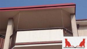 zabezpieczenie balkonu Kabaty