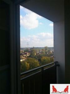 siatka na balkon Warszawa Rembertów