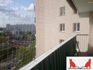 siatka na balkon Warszawa Bielany