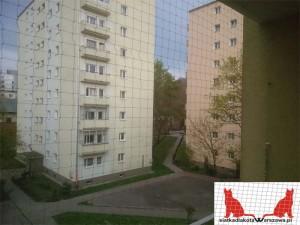 siatka na balkon Warszawa Wola
