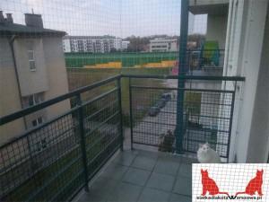 siatka na balkon Warszawa Włochy
