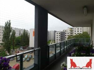 siatka na balkon Warszawa Bemowo
