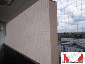 siatka na balkon Warszawa Gocław