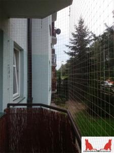 siatka na balkon Łomianki