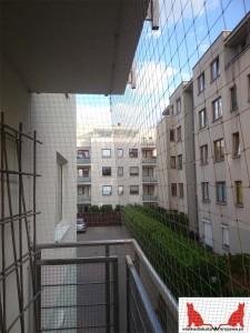 siatka na balkon Warszawa Śródmieście