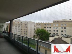 siatka dla kota na balkon Ursynów