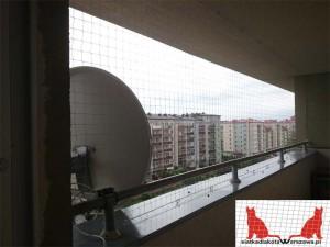 siatka dla kota na balkon Natolin