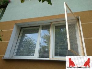 siatka dla kota na balkon Wołomin