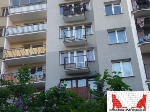 siatka dla kota na balkon Bielany