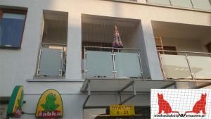zabezpieczenie balkonu Wilanów