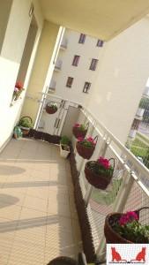 siatka na balkon Warszawa